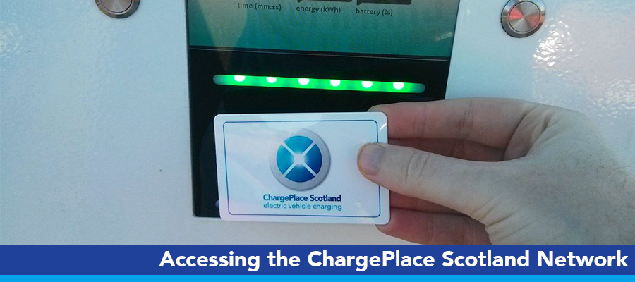 Accessing the ChargePlace Scotland network